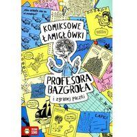 Literatura młodzieżowa, Komiksowe łamigłówki profesora bazgroła i zgranej paczki - barbara supeł (opr. miękka)