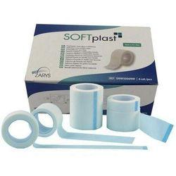 Plaster włókninowy, biały SOFTPLAST - Zarys 5 cm X 9,14 m, 1 sztuka/rolka