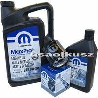Pozostałe oleje, smary i płyny samochodowe, Olej MOPAR 0W20 oraz oryginalny filtr Jeep Renegade 2,4 MultiAir
