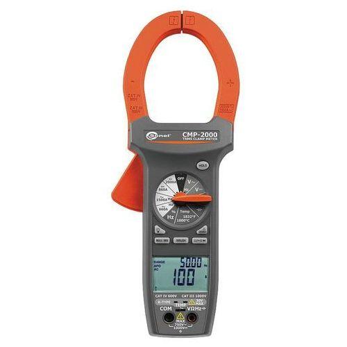 Mierniki elektryczne, CMP-2000 Cyfrowy miernik cęgowy + świadectwo wzorcowania Sonel WMXXCMP2000