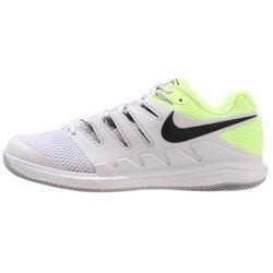 Nike Performance AIR ZOOM VAPOR X HC Obuwie multicourt vast grey/black/atmosphere grey/volt glow