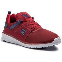 Męskie obuwie sportowe, Sneakersy DC - Heathrow ADYS700071 Dark Red(Drk)