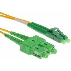 LCAPC-LCPC-SM-10M Jednomodowy dupleksowy patchcord światłowodowy LCAPC-LCPC o długości 10m