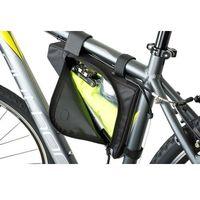 Sakwy, torby i plecaki rowerowe, Torba pod ramę trójkątna AUTHOR A-R244 czarna