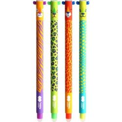 Długopis wymazywalny Uszaki Wild (447687). mix wzorów