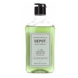 Depot No. 406, transparentny żel do golenia, 200ml