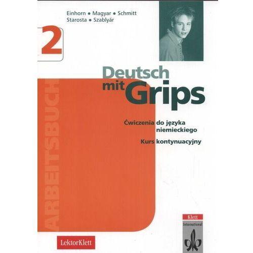 Książki do nauki języka, Deutsch mit grips 2 Arbeitsbuch (opr. miękka)