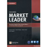 Książki do nauki języka, Market Leader Business English Flexi Course Book 1 with DVD + CD Intermediate - Dubicka Iwonna, Okeeffe Margar (opr. miękka)