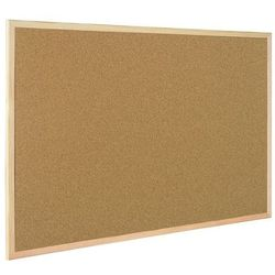 Tablica korkowa BI-OFFICE rama drew. 60x40cm