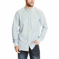 koszula BENCH - Linear Neps Dark Navy Blue (NY031) rozmiar: M