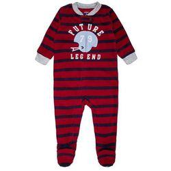 Carter's BOY FOOTBALL FUTURE LEGEND BABY Śpioszki red