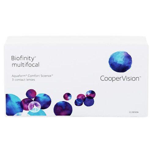 Soczewki kontaktowe, Biofinity Multifocal 3 szt. typ D