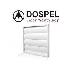 Żaluzja ścienna DOSPEL do instalacji wywiewnej 100/125mm (KRZ100125)