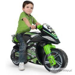 Kawasaki jeździk motorek biegowy injusa winner + koszykówka gratis