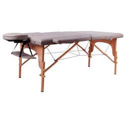 Stół do masażu inSPORTline Taisage wzmacniany model 2018, Czarny