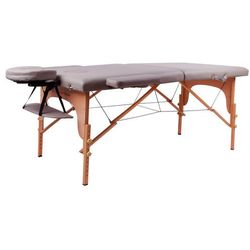 Stół do masażu inSPORTline Taisage wzmacniany model 2018, Kremowo-żółty