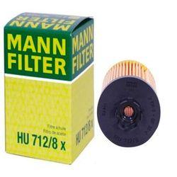 FILTR OLEJU MANN HU712/8X (OE648) OPEL FIAT ALFA