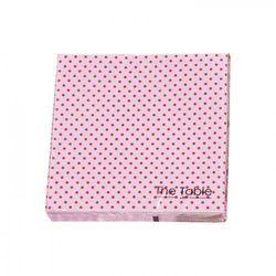 Serwetki papierowe MIXIT różowe kropki