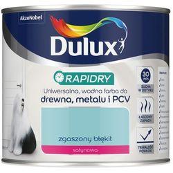 Emalia akrylowaDulux Rapidry zgaszony błękit 0 4 l