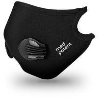 Maski antysmogowe, Maska Normal antysmogowa N99 czarna   Oryginalny produkt med patent