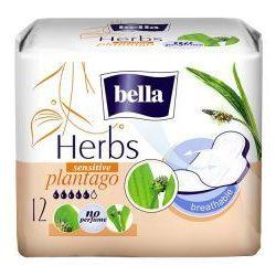 Podpaski Bella Herbs z babką lancetowatą - opak. 12 szt. wyprzedaż