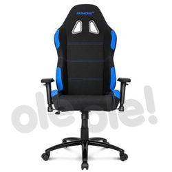 Akracing Gaming Chair K7012 (czarno-niebieski) - produkt w magazynie - szybka wysyłka!