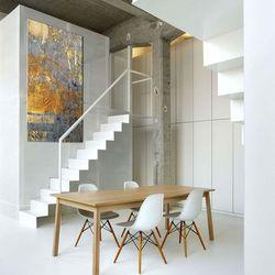 Ekskluzywne bardzo duże obrazy do salonu lub sypialni - złoto i niebieski rabat 15%