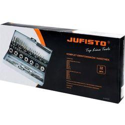 Zestaw gwintowników i narzynek JU-TD-Z32 M3 - M12 32 szt. JUFISTO