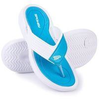 Pozostałe sporty wodne, Klapki basenowe SPOKEY Chillout Niebiesko-Biały (rozmiar 41)