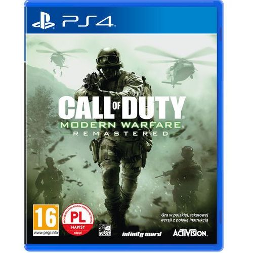 Gry PS4, Call Of Duty Modern Warfare Remastered (PS4)