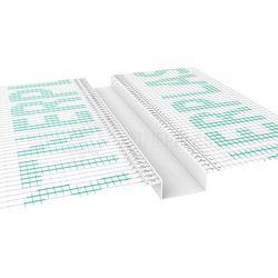 Listwa do boniowania z siatką 20x20 mm H=2cm, L=2mb pakiet 20szt.