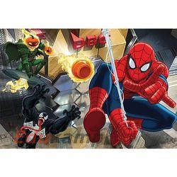 Puzzle Spiderman Únik 100 dílků 41x27,5cm v krabici 29x20x4cm