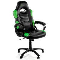 Fotele dla graczy, Fotel AROZZI Enzo Czarno-zielony + DARMOWY TRANSPORT!