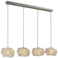 Lampy sufitowe, Lampa wisząca BARI 4 DEL-8348-4P - Azzardo - Autoryzowany dystrybutor AZzardo