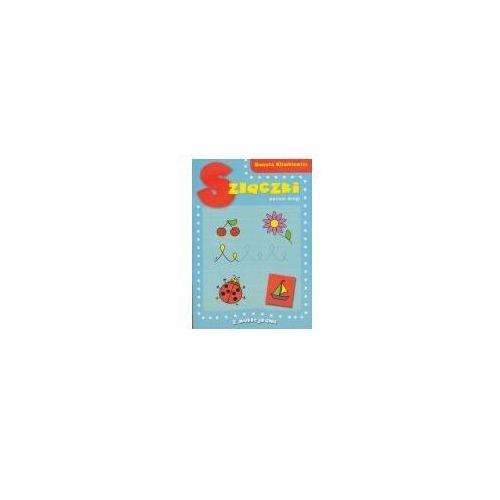 Książki dla dzieci, Książeczka edu. a4 szlaczki poziom 2 naklejki skrzat 377232 (opr. broszurowa)