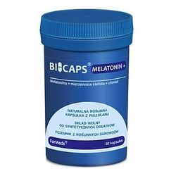 Bicaps Melatonin+ melatonina 60kaps.