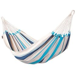 Hamak pojedynczy La Siesta Caribena aqua blue