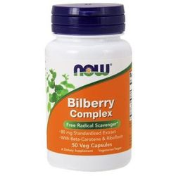 Bilberry Complex 80mg 50 kaps.