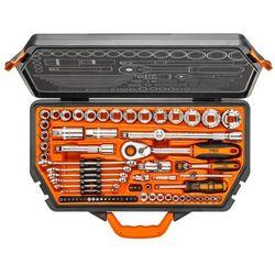 Klucze nasadowe NEO 08-635 1/4 i 1/2 cala 71 elementów + Zamów z DOSTAWĄ JUTRO! + DARMOWY TRANSPORT!