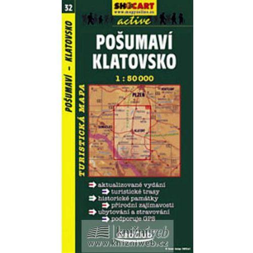 Pozostałe książki, Pošumaví Klatovsko 1:50T neuveden