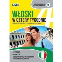 Książki do nauki języka, Włoski w cztery tygodnie - Anna Opolska-Waszkiewicz (opr. miękka)