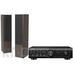Denon PMA-520AE (czarny), Pylon Audio Coral 25 (wenge)