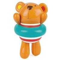 Zabawki do kąpieli, Hape Zabawka do wody Miś w kole E0204