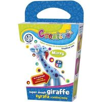 Kreatywne dla dzieci, Creativo- Żyrafy z lekkiej masy - ASTRA