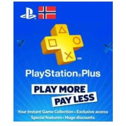 Playstation Network Card (PSN) 90 days (Norway)