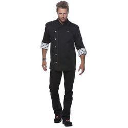 Bluza kucharska, rozmiar 64, czarna   KARLOWSKY, Rock Chef