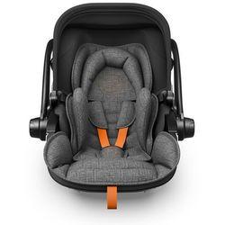 Kiddy Fotelik samochodowy Evoluna i-Size 2 + Baza Isofix 2 Grey Melange Safe Orange - BEZPŁATNY ODBIÓR: WROCŁAW!