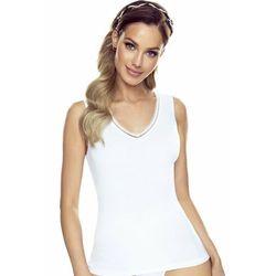 Federica koszulka bawełniana damska Eldar Romantica Biała