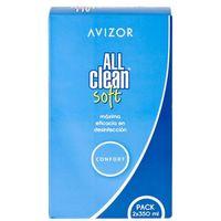 Płyny pielęgnacyjne do soczewek, Avizor All Clean Soft 2 x 350 ml