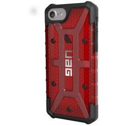 UAG Plasma - obudowa ochronna do iPhone 6/6s/7 (czerwona przeźroczysta)